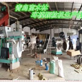 供应原木削片粉碎制棒机 出口优质高效稳定颗粒机 颗粒生产线