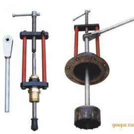管道带压打孔机生产厂家 铸铁管道钻孔机 DN100 鑫通达