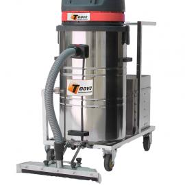 24V电瓶吸尘器 拓威克推吸式电瓶工业吸尘器