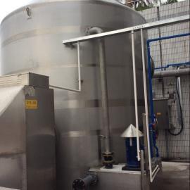 餐厨垃圾除臭设备 废气净化设备 生物洗涤塔 空气净化塔 不锈钢