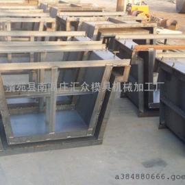 全新排水槽模具设计图,水利流水槽模具使用