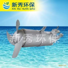 推流式潜水搅拌机