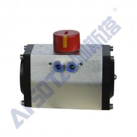 单作用气动执行器 自动弹簧复位式气动执行器 气缸执行器