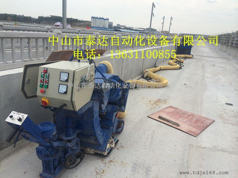 桥面抛丸机-路面清理抛丸机