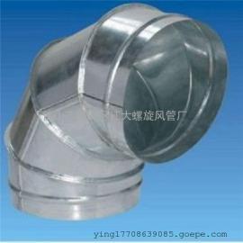 佛山最大的螺旋风管厂家大量供应白铁通风工程产品