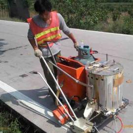 道路标线热熔划线工艺