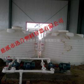 锥底水箱100L加药箱批发50L塑料桶定做价格
