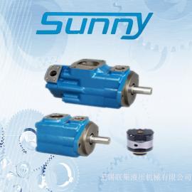 美国SUNNY叶片泵45V60A-86A22R锻压设备油泵
