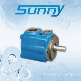 美国SUNNY液压油泵45V60A-1B22R高压叶片泵