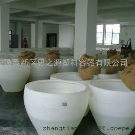 厂家供应500L粮食发酵缸/食品级塑料酒缸