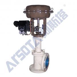气动薄膜角式调节阀 气动高压角式调节阀 气动角式高压调节阀