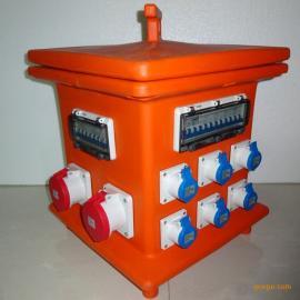 定制富森工业插座箱防水检修箱工业防水插头插座曼奈柯斯插座箱