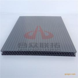 12毫米灰色蜂窝空心板广告灯箱采光顶浙江阳光板厂家价格批发