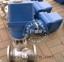 配LQ40-1电动执行器不锈钢电动球阀最新报价