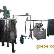 超细磨砂磨机 石墨烯纳米级砂磨机 无锡鑫邦立式 卧式砂磨机