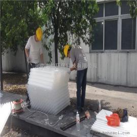 河北化�W除油器斜管填料/四川50蜂�C斜管填料