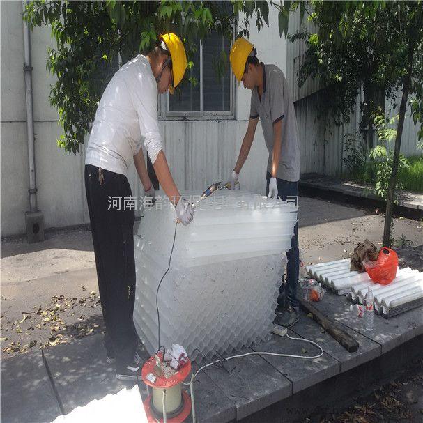 六角蜂窝斜管填料Q5化学除油器除油填料,斜管填料价格