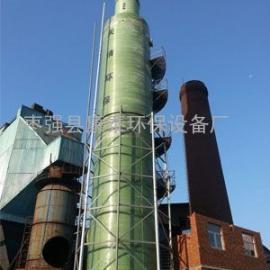 锅炉烟气脱硫除尘器,玻璃钢除尘器