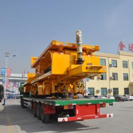 �p型8米9米集�b箱自卸半�燔��S家��r及自重