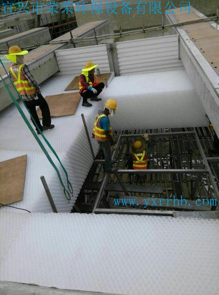 PP斜管填料 六角蜂窝斜管填料 50mm聚丙烯斜管填料