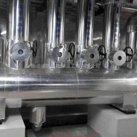 铝皮岩棉管道防腐保温工程
