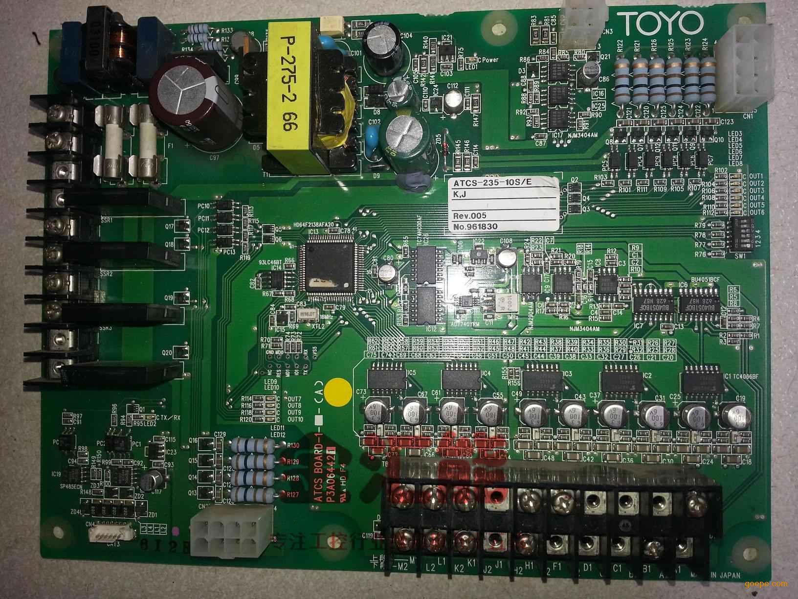 东洋注塑机电路板atcs-235-10s维修