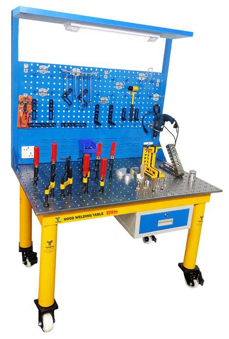 机器人焊接平台,焊接技能PK大赛使用工装平台,好焊台