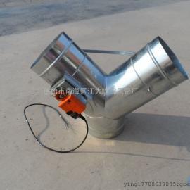 供应江大镀锌螺旋风管加工厂专业生产圆形配件异形三通多接头