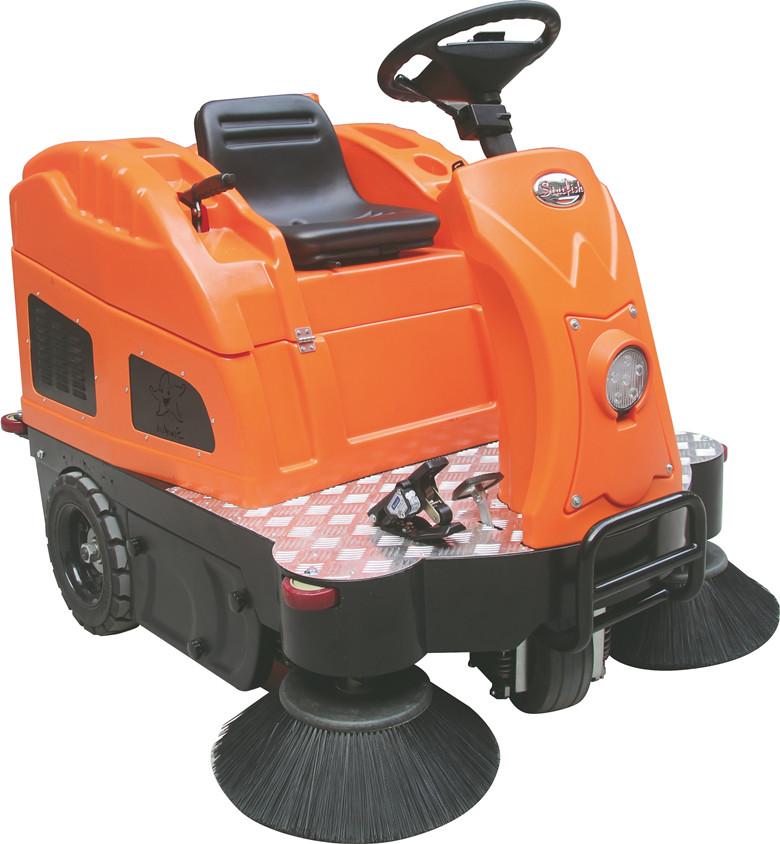 扫灰尘树叶颗粒驾驶式扫地机OS-V2