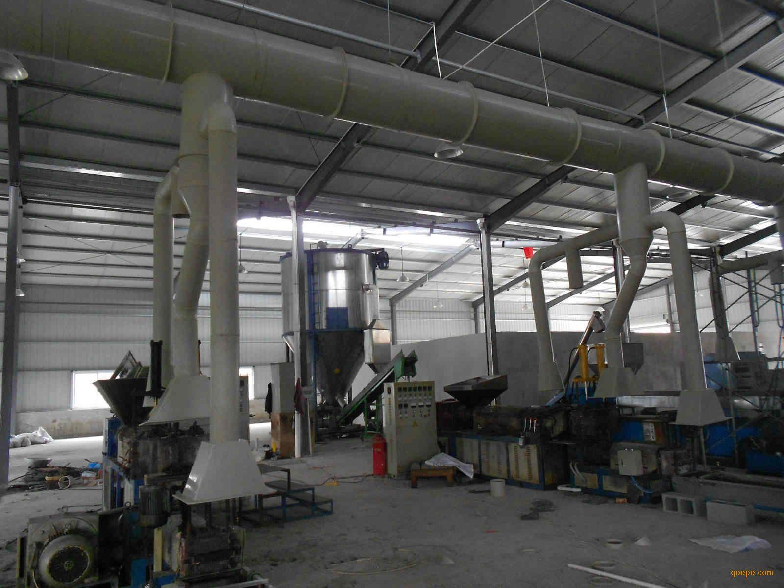 涂布生产过程污染废气处理及有害气体处理方法