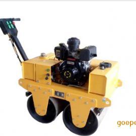 手扶式双轮压路机  小型压路机