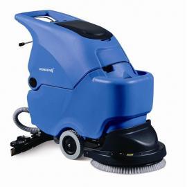 无锡车间用洗地机 容恩R50B电瓶式洗地机