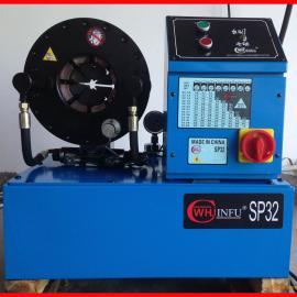 高压液压胶管接头锁管压管机_液压胶管扣管压管机械设备价格