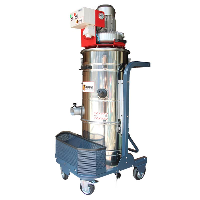 吸金属颗粒工业吸尘器 380V大功率工业用吸尘器