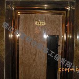质优价惠酒店大门 家装修饰 娱乐休闲会所不锈钢门套