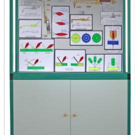 HM-10型《焊、铆工艺学》示教柜