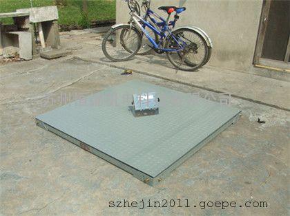 苏州500kg防爆电子磅秤,1*1m碳钢本安防爆地磅秤