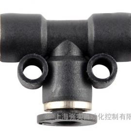 进口PU管三通变径接头φ16 NUMAX气动PUTD16
