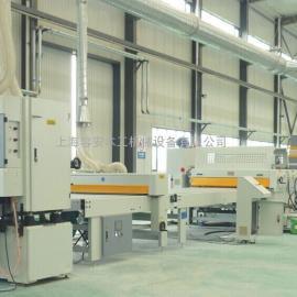 装饰材料贴面线现货、板板复合PUR贴面线、上海自动贴面机