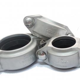 厂家直销沟槽消防管卡 卡箍式连接件型号齐全低价供应