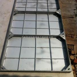 方形不锈钢双层隐形井盖