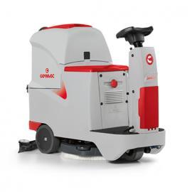无锡商场用驾驶式洗地机 意大利高美洗地机Innova55B