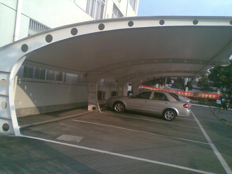 园林车棚,景观雨棚,上海专业制作,厂房,商务楼,小区停车棚