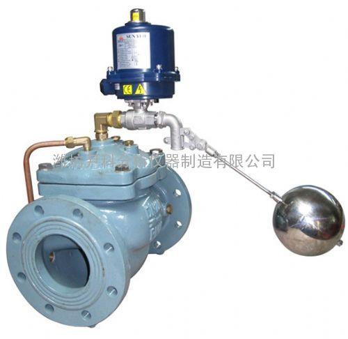 把球阀,电磁阀及附水箱内浮球阀连接在控制管路上