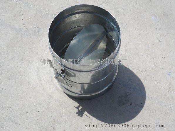 电动风阀,镀锌板风阀,风量调节阀-江大螺旋风管厂低价图片
