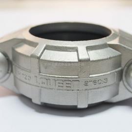 不锈钢唯特利卡箍接头 管箍 DN65