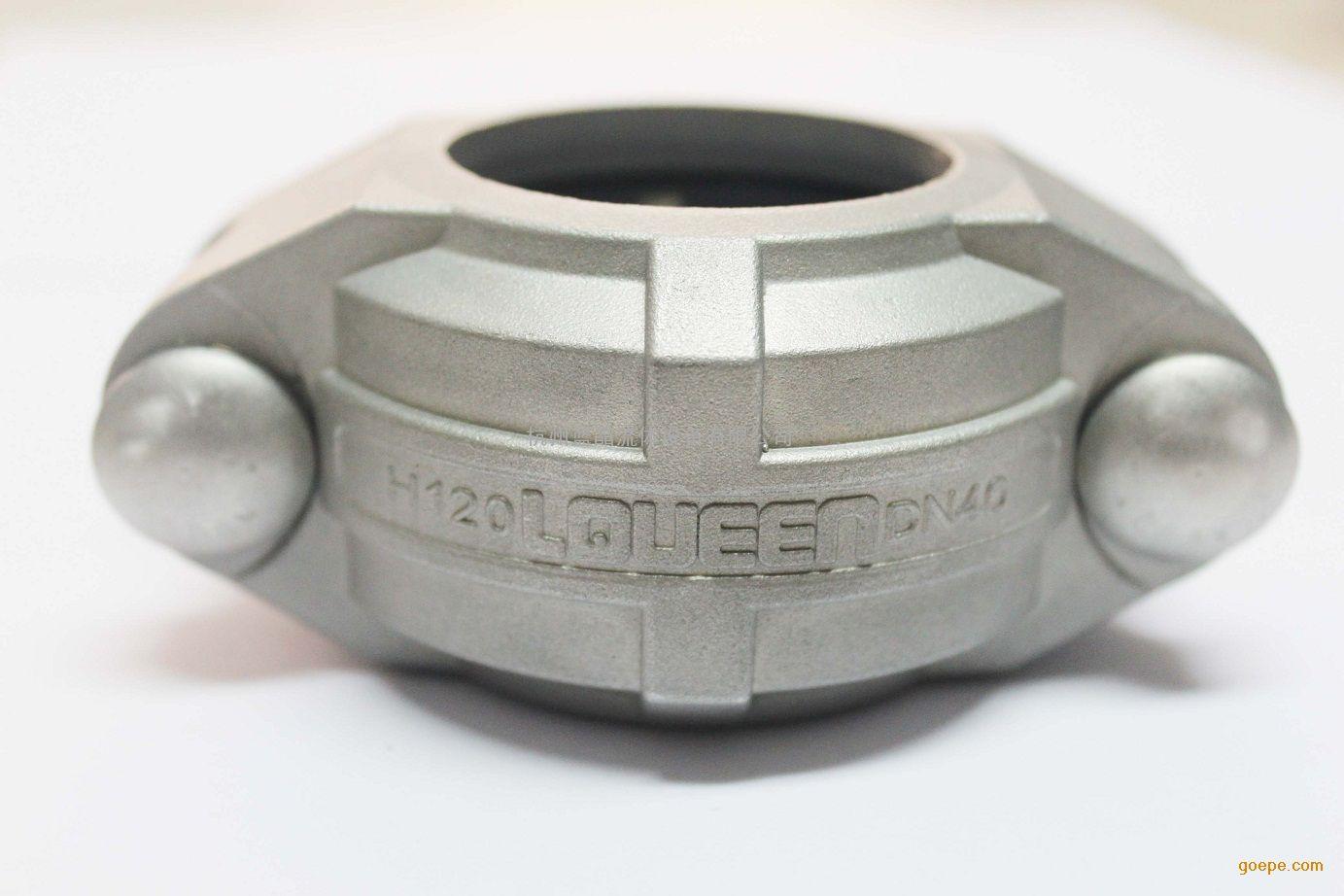 DN40不锈钢高压卡箍,1.5寸316不锈钢高压卡箍