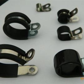福莱通电动车用R型带胶条喉箍 SKM紧固夹价格