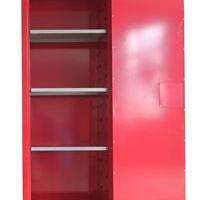红色可燃化学品安全存储柜