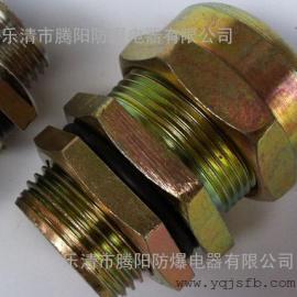 防爆格兰头 黄铜镀镍